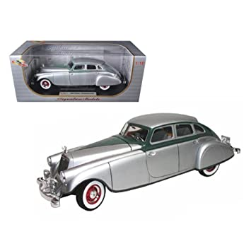 Signature 1/18 Scale diecast 18136 1933 Pierce Arrow Silver ...