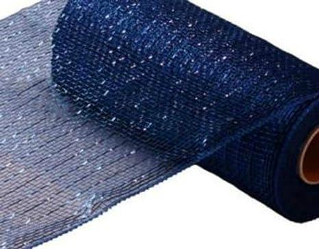 10 inch mesh 10 inch x 10 yards Solid Navy Fabric Mesh Summer Wreath Fabric Mesh Free Shipping Best Quality Wreath Mesh