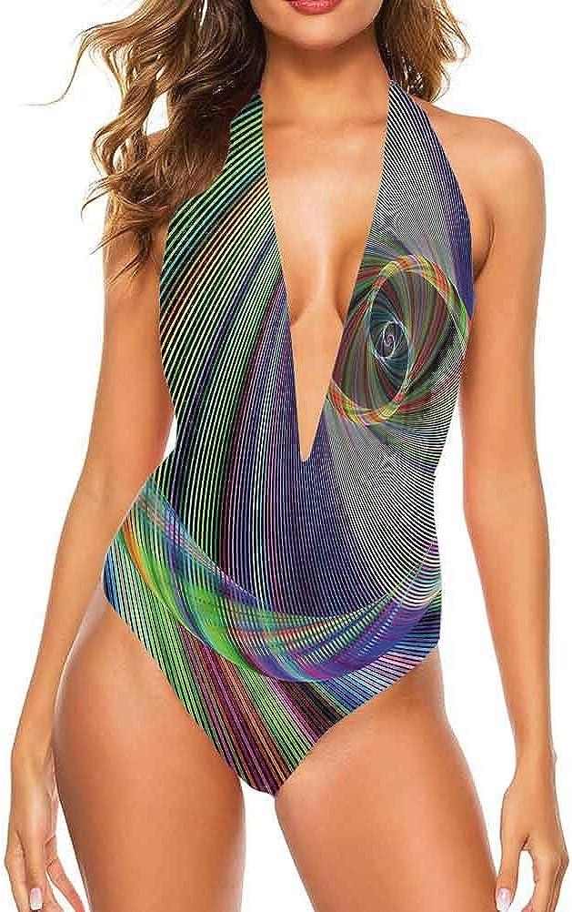 Adorise Ensemble de maillot de bain pour femme Motif renard aquarelle Queue bouffante Tod pour piscine ou plage Multi 13.
