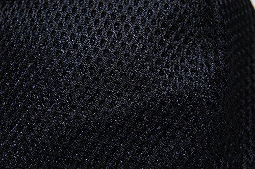 [ビッグワッチ] 無地ラウンドメッシュキャップ CPMG-01R メンズ ブラック 大きいサイズ