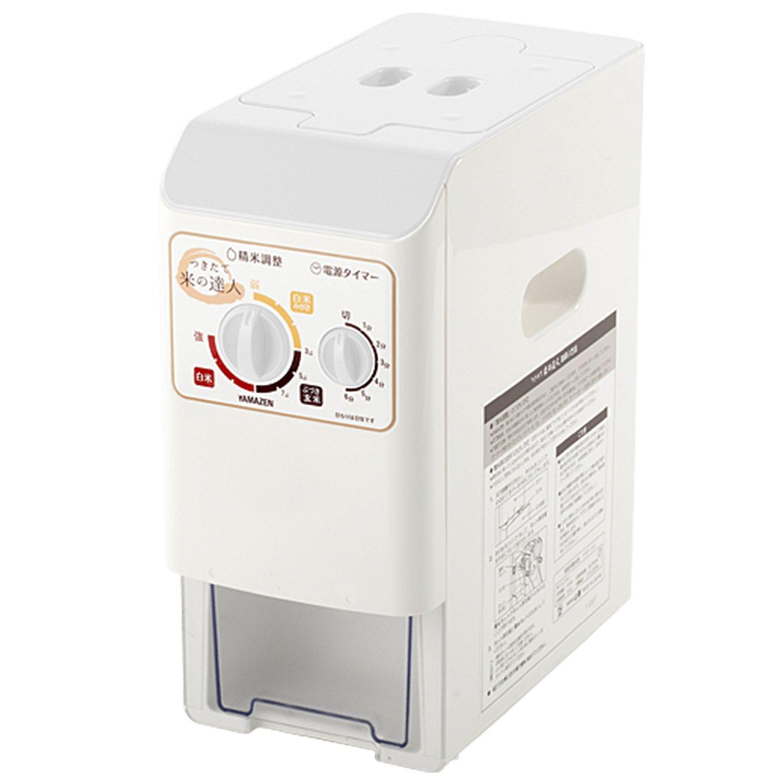 Yamazen (YAMAZEN) pressure-type home for rice milling machine Tsukitate rice expert - 5 people for white YRP-51 (W)