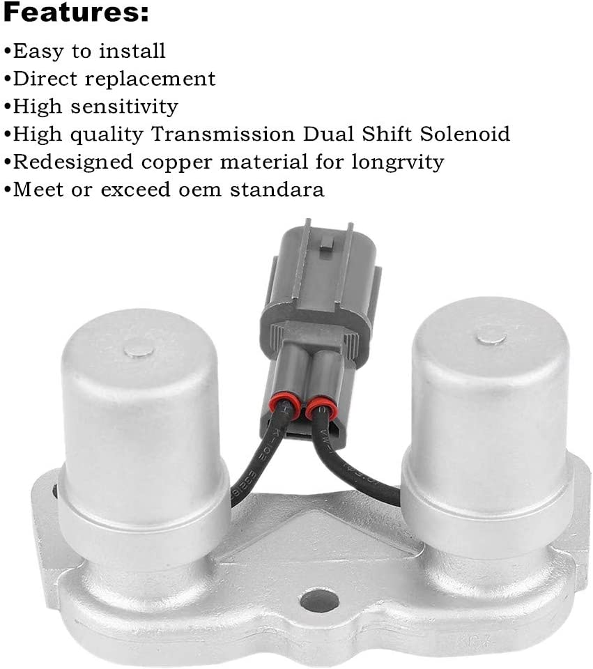 Automatic Transmission Dual Shift Solenoid Lock Up Solenoid 28300 ...