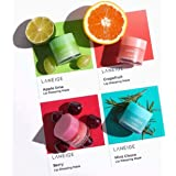Set 4 Scented LANEIGE Lip Sleeping Mask (Berry/Grapefruit/Apple/Mint Choco)