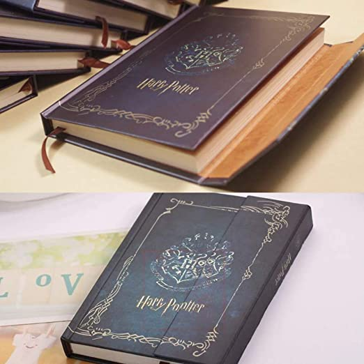 Amazon.com : Vintage Harry Potter Notebook Journal Agenda ...