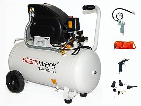 Alta presión de aire comprimido compresor 305/8/incluye 50 11stück Juego de aire