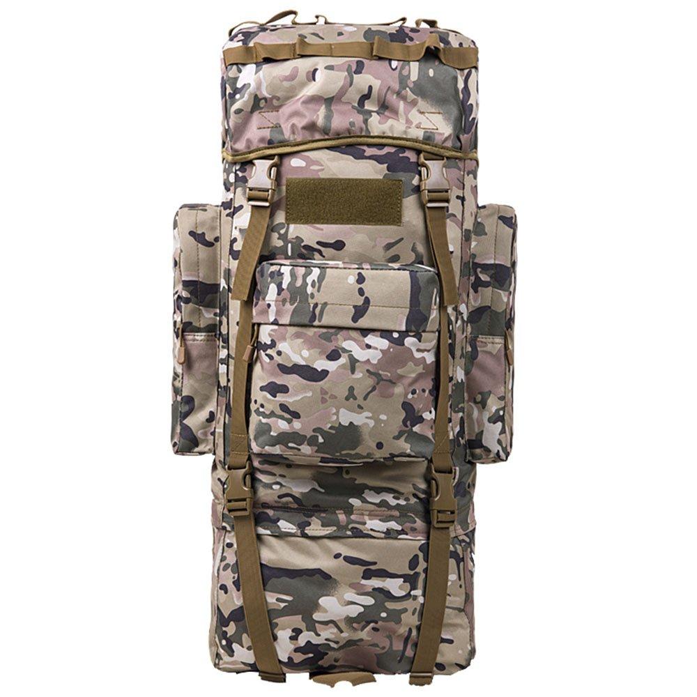 CHS@ オックスフォードの登山バッグの肩の男性と女性の大容量旅行バッグハイキングバッグのリュックサック男性の荷物のバッグカモフラージュ アウトドアバックパック (サイズ さいず : 100L) B07QFJMSYY  100L