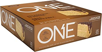 ONE Protein Bar Peanut Butter Chocolate Cake 20g Protein 12 Ct