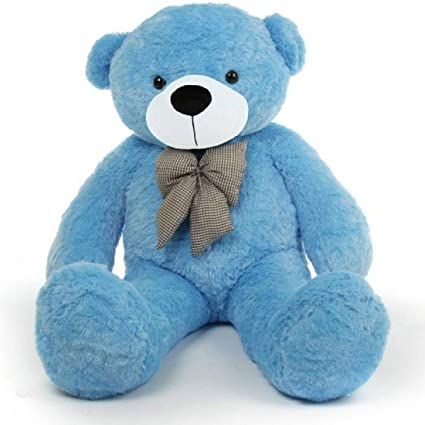 AARU Soft Lovable Cute Standing Teddy Bear ( 24 INCHES) Blue