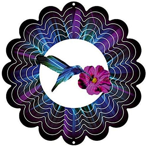 Eycatchers Reflective Hummingbird Wind Spinner 12