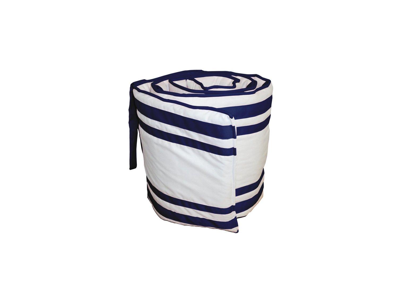 Babykidsbargains Soho Cradle Bumper, Navy, 18'' x 36''