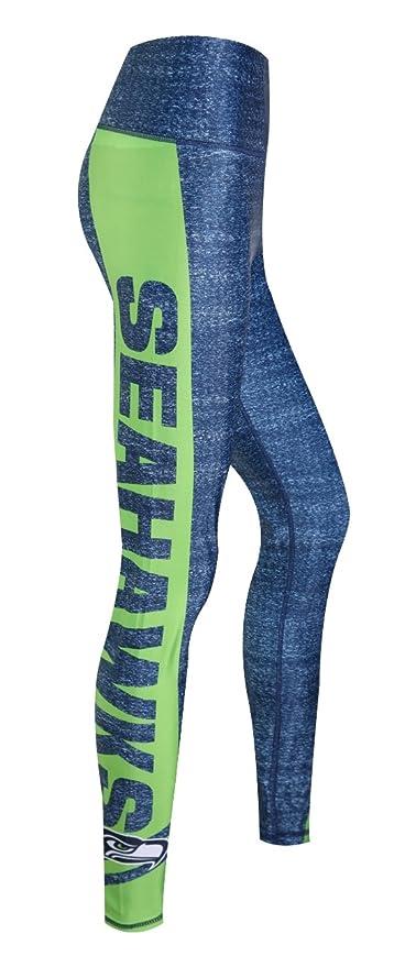 1848f625ac4 Concepts Sport Seattle Seahawks Women s NFL Showpiece Leggings Yoga Pants
