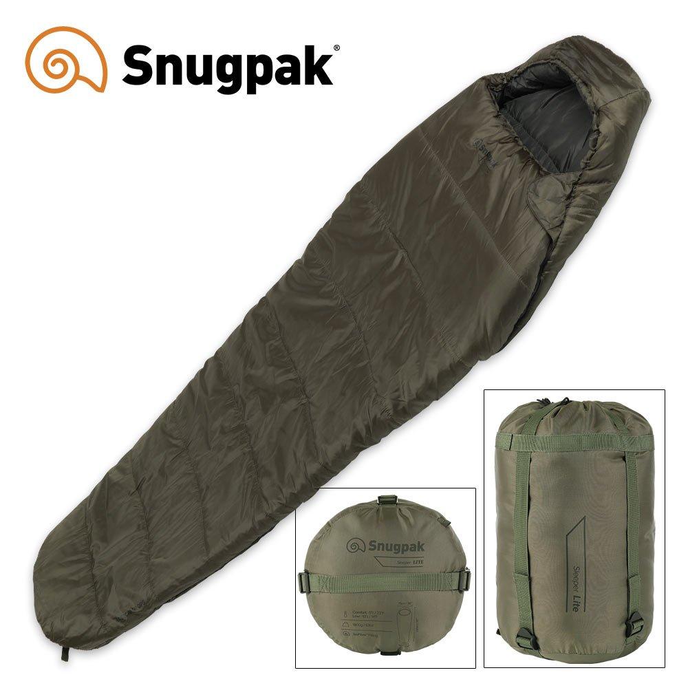 Snugpak Basecamp OPS SleepingバッグLiteオリーブ B073VQNYJS