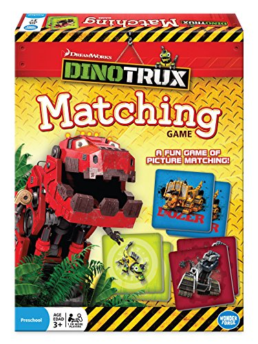 Dinotrux Matching Game