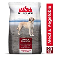 Wilderness Meat and Vegetables Adult Dog Food, 20 kg
