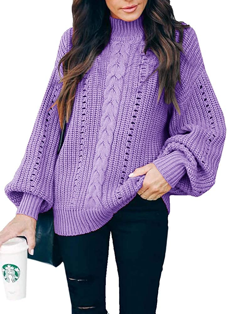Karen Scott Womens Cable-Knit Sweater Purple Size Extra Large 732996917795 | eBay