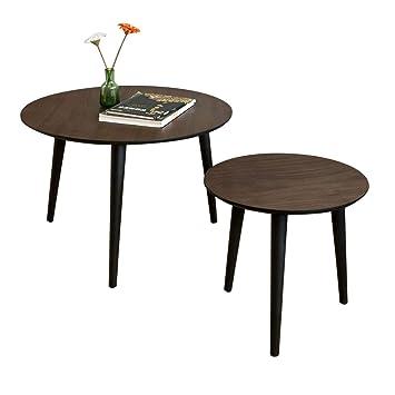SoBuy 2er Set Couchtisch, Beistelltisch 2-teilig, Tisch-Set ...