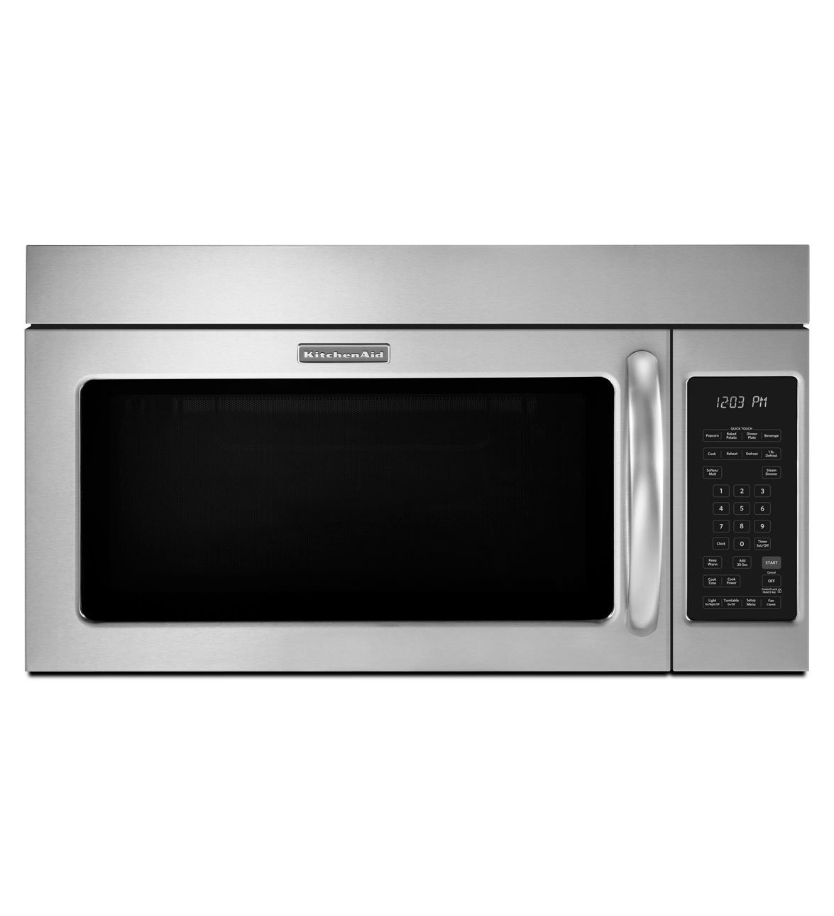 61CMM52QznL._SL1290_ amazon com kitchenaid khms2040bss 30 built in microwave oven 1000  at soozxer.org