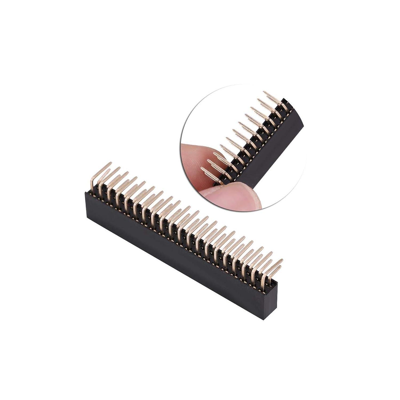2,54mm Socket Bar 40 Pole Pin Header Female Stackable Female 1x-50x
