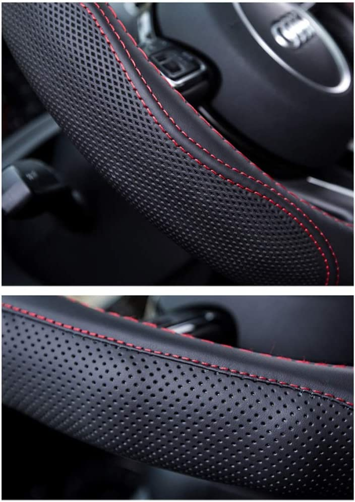 Sch/öne niedliche Cartoon Auto Lenkradabdeckung UV-best/ändig hei/ße Hitze Sonnenschutz Protector Auto Lenkr/äder Dekoration-Multi-Color Mixed