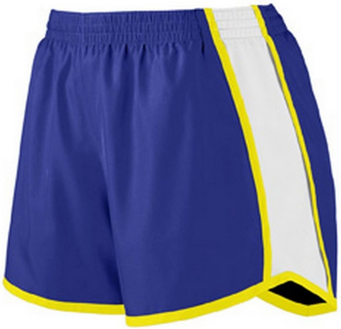 TALLA S. Augusta Sportswear para Mujer Junior Ajuste Pulse Team Corto