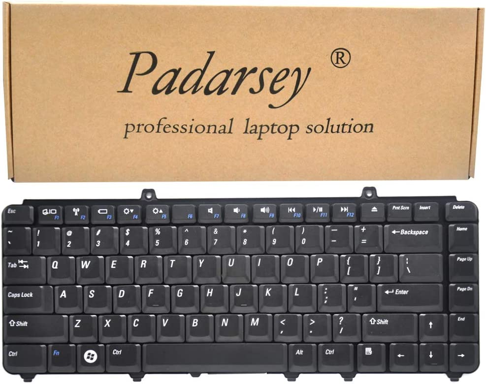 Padarsey Replacement Keyboard Compatible for Dell Inspiron 1545 1540 1546 1410 1420 1520 1521 1525 1526 P446J 0P446J NSKD9301 NSK-D9301 Series Black US Layout
