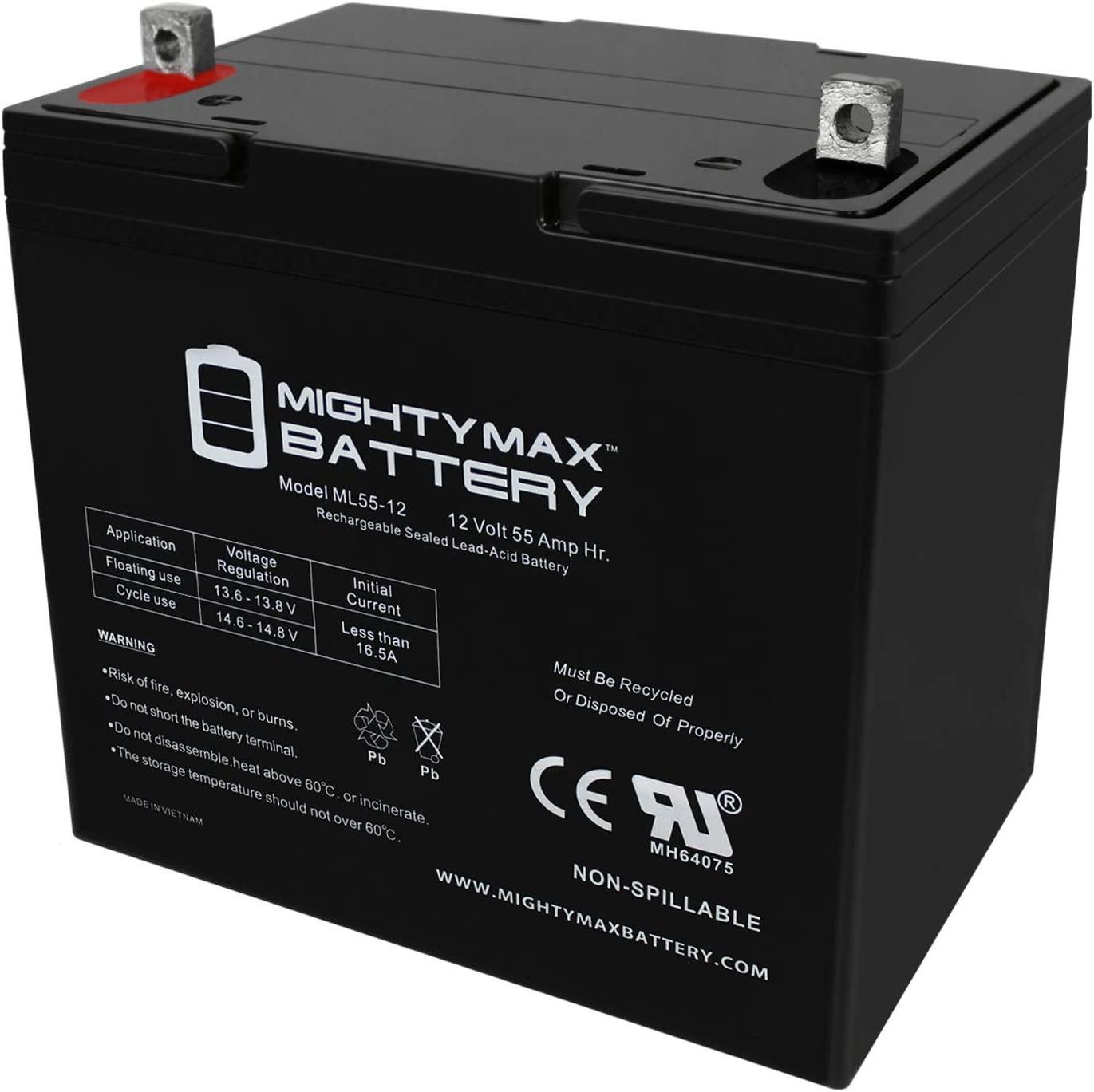 Mighty Max Battery 12V 55Ah