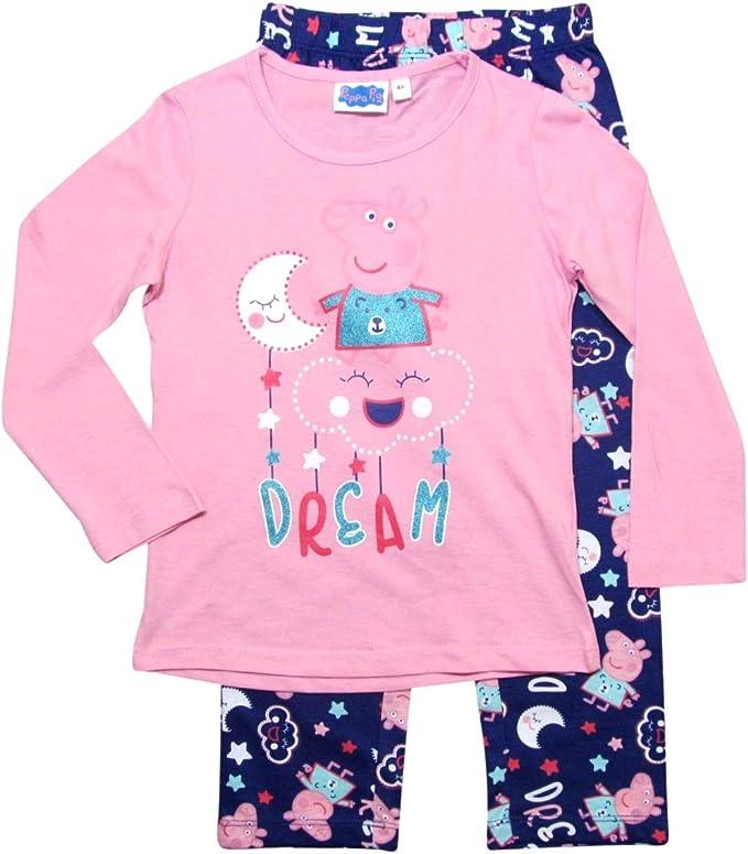 ✰  Schlafanzug Langarm PYJAMA lang Mädchen H//W Peppa Pig 92-116 cm