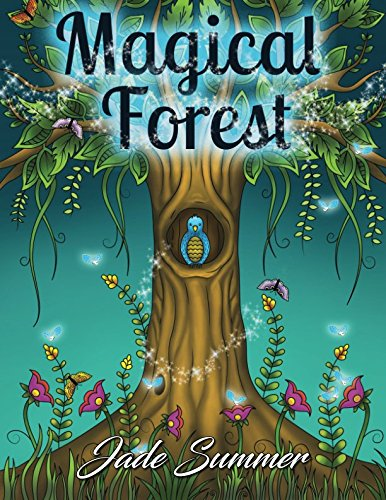 Halloween Coloring Sheets Pdf (Magical Forest: An Adult Coloring Book with Enchanted Forest Animals, Cute Fantasy Scenes, and Beautiful Flower Designs for)