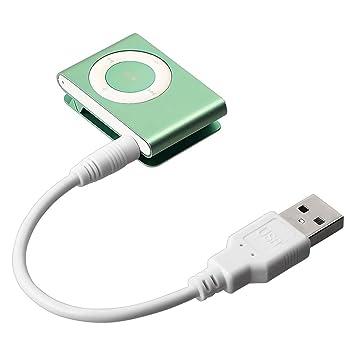 USB Adaptador De Dato/Cargar Para iPod shuffle 2nd Gen, Blanco
