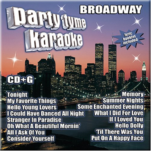 Party Tyme Karaoke - Broadway (16-song CD+G) (Party Warehouse Fort Worth)