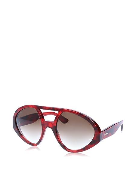 Valentino Gafas de Sol V708S 56 (56 mm) Rojo: Amazon.es ...
