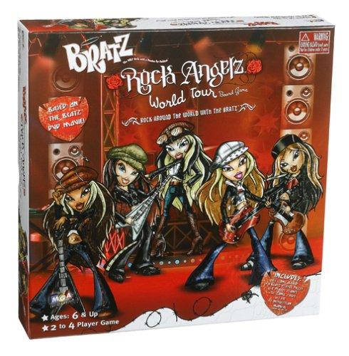 Bratz Rock Angelz World Tour Board Game