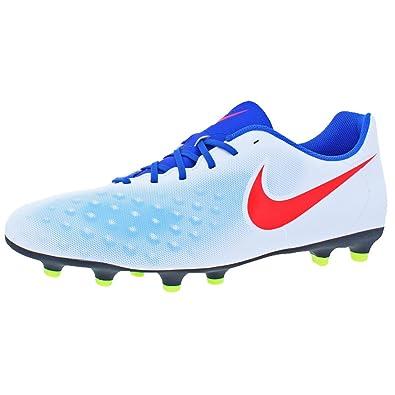 0bcc770f44b3 Nike Womens Magista Ola II FG Athletic Performance Cleats White 13 Medium  (D)