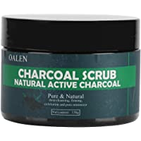 Natural Bamboo Charcoal Exfoliating Scrub Salt Body Face Dead Skin Remover Whitening Deep Clean