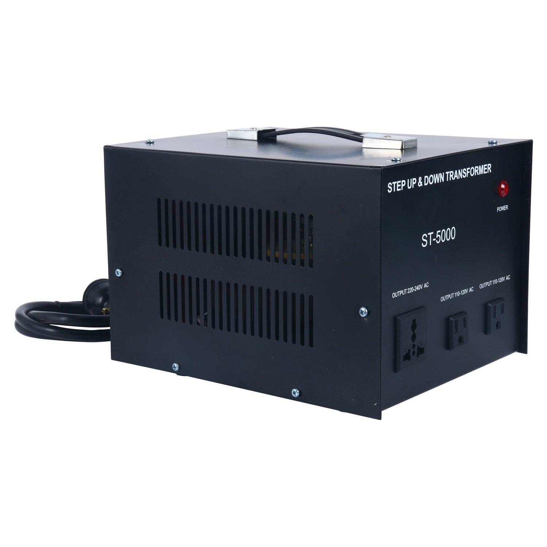 YaeCCC 5000 Watt Voltage Converter Transformer - 110V/220V - Circuit Breaker Protection by YaeCCC (Image #8)