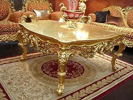 Tavolini Salotto Antichi.Louisxv Tavolino Da Salotto Barocco Cornice Oro Antico Stile