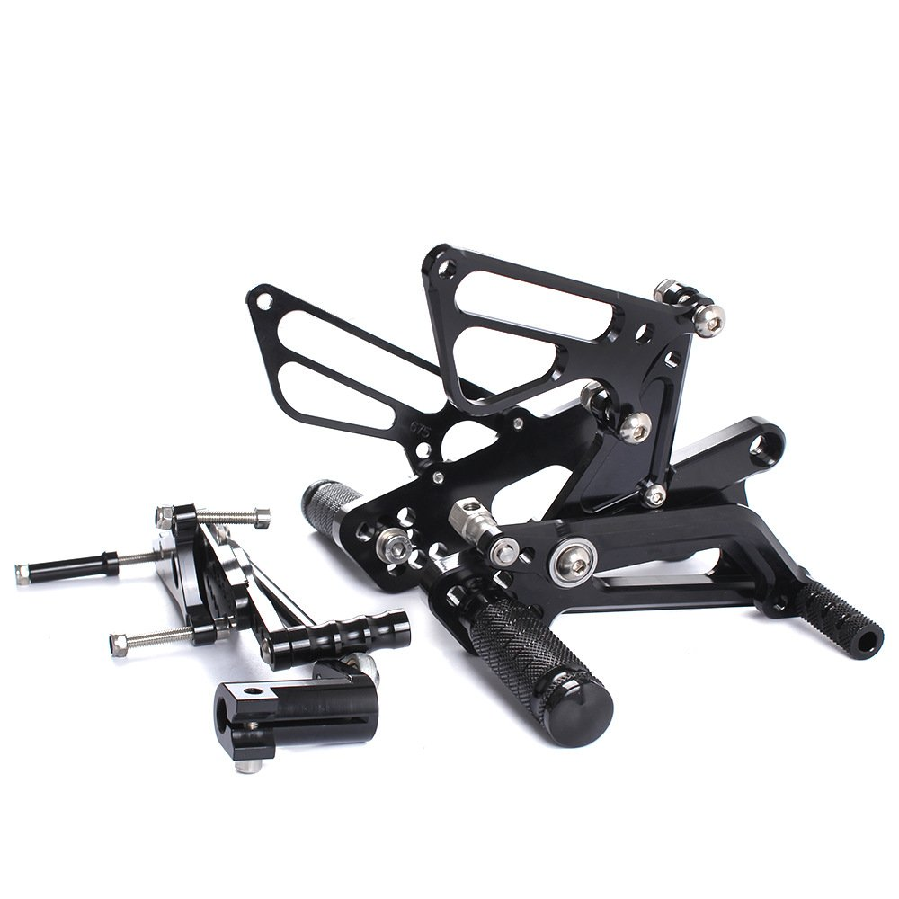 ETbotu Motorcycle CNC Aluminum Footpegs Rearset Elevated Assembly for Motorbike DAYYONA675R06-12 by ETbotu (Image #3)
