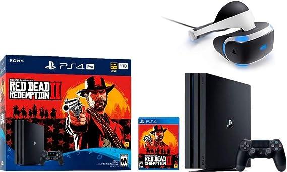 Sony PlayStation 4 Pro - Auriculares de diadema (1 TB, 2 unidades), color rojo: Amazon.es: Informática