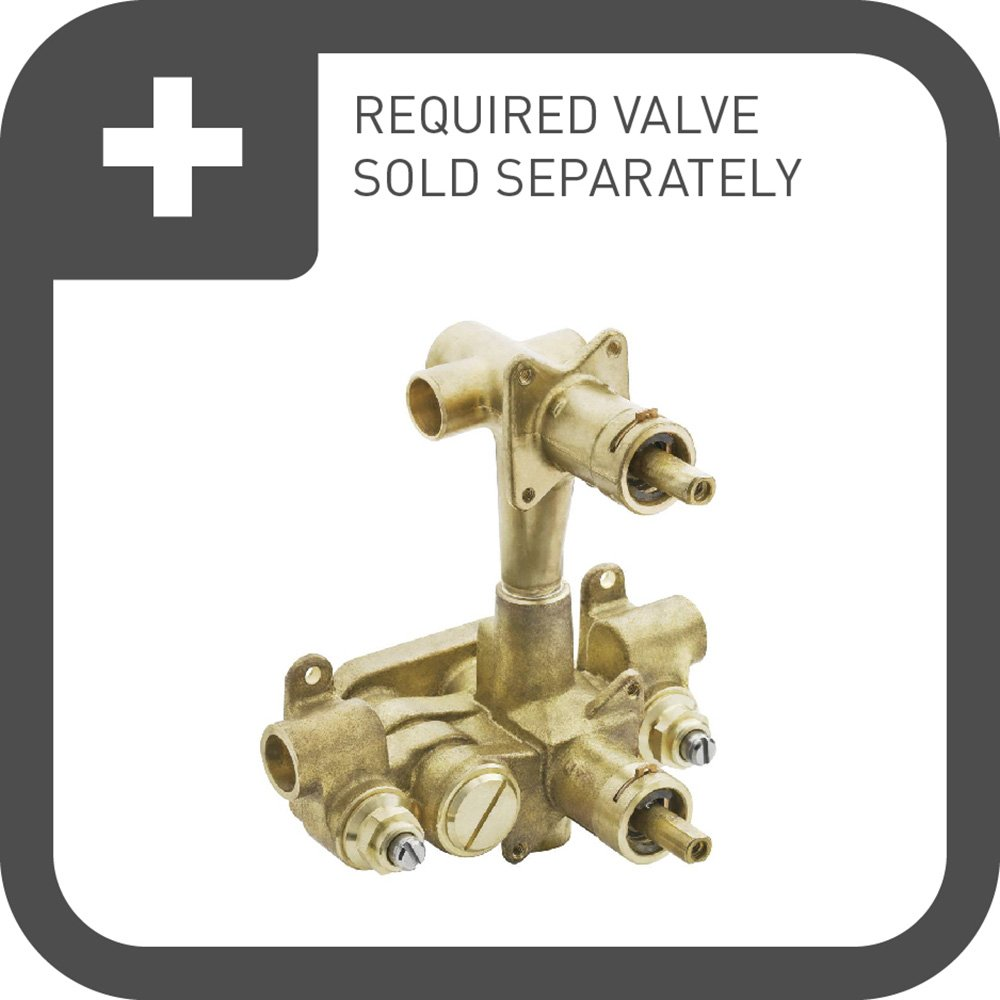 Moen TS4211BN Rothbury Moentrol Shower Valve with 3-Function Integrated Diverter Valve Trim, Valve Required, Brushed Nickel by Moen (Image #2)