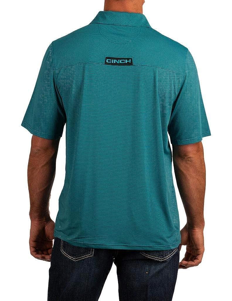 Cinch Mens Short Sleeve Arenaflex Polo MTK1829006