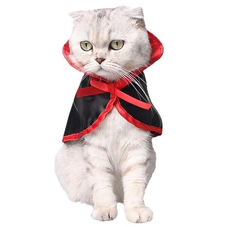 Legendog Pet Cloak Disfraces Perro Ropa Divertida Lindo Cosplay Capa De Vampiro Cabo Para Perros PequeñOs