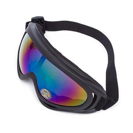 Lunettes de Protection Masque de Visage Incassable Anti-UV Coupe-Vent  Anti-Poussière 200730fd922f