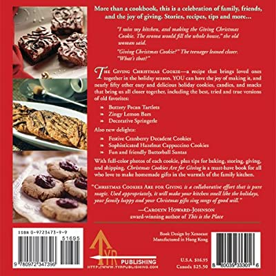 Christmas Cookies Are For Giving Recipes Stories And Tips For Making Heartwarming Gifts Johnson Kristin Cummins Mimi 0880039333016 Amazon Com Books