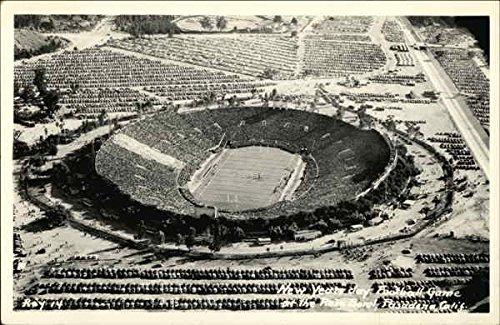 New Years Day Football Game at the Rose Bowl Pasadena, California Original Vintage (Rose Bowl Pasadena California)
