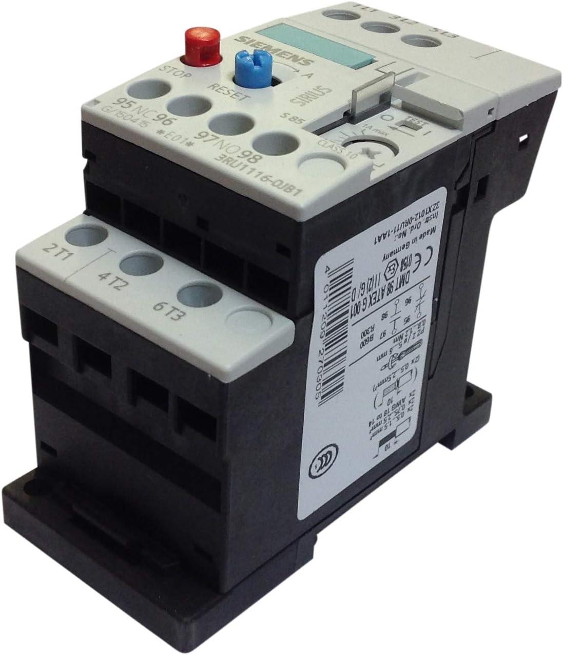 Siemens Rele sobrecarga 0,7//1a contacto abierto+contacto cerrado s00