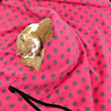 Alfie Pet by Petoga Couture – Quarry Fleece Blanket for Dogs and Cats – Color: Red Dot, Size: Large