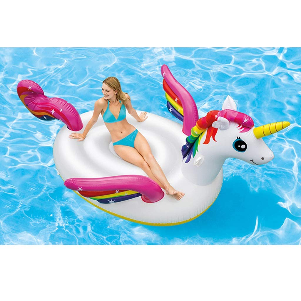 SUN HUIJIE Unicorn Pool Float Party Tube - Inflatable Rafts, Adults & Kids Swimming Pool (Size : 287193165cm) by SUN HUIJIE (Image #3)