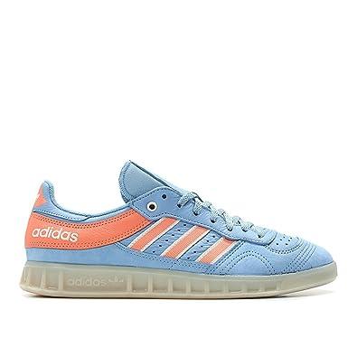 official photos 0d9a0 34d40 adidas Men Oyster Holdings Handball Top Blue ash Blue Chalk Coral Chalk  White Size 8.0 US