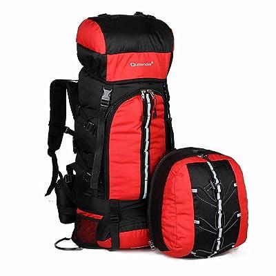AllureFeng Sport professionnel plein air sac à dos escalade bun sports de plein air sac à dos voyage sac 80L/randonnée sac à dos