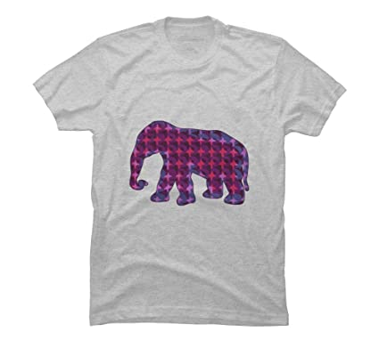 a1e90348e Amazon.com  The Pink Elephant Men s Graphic T Shirt - Design By ...